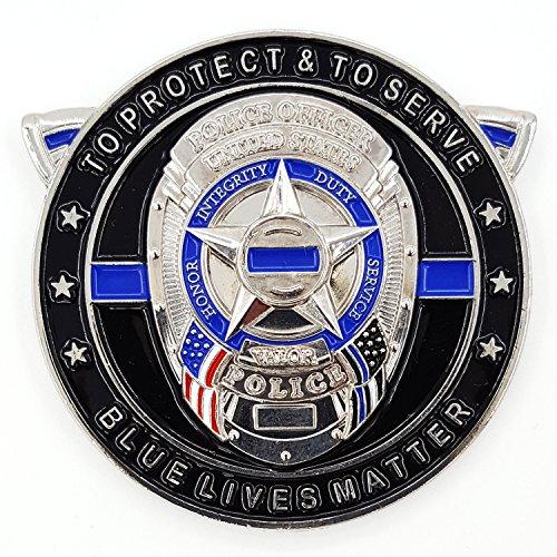 Punisher Thin Blue Line, Blue Lives Matter Law Enforcement ...