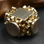 Pure-Brass-Fidget-Cube-Gears-Linkage-Fidget-Toy-Metal-DIY-EDC-Focus-Meditation-Break-Bad-Habits-ADHD-Fidget-Cube-0-2