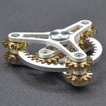 Pure-Brass-Fidget-Spinner-Gears-Linkage-Fidget-Gyro-Toy-Metal-DIY-Hand-Spinner-Spins-Long-Time-EDC-Focus-Meditation-Break-Bad-Habits-ADHD-With-Multiple-Premium-Bearings-0-0
