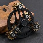 Pure-Brass-Fidget-Spinner-Gears-Linkage-Fidget-Gyro-Toy-Metal-DIY-Hand-Spinner-Spins-Long-Time-EDC-Focus-Meditation-Break-Bad-Habits-ADHD-With-Multiple-Premium-Bearings-0