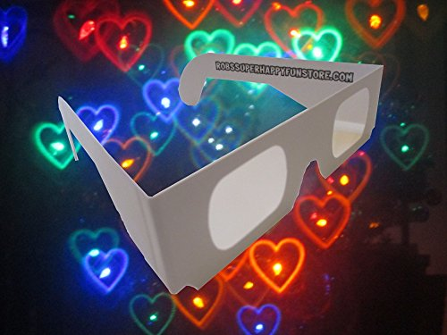 Rainbow-Hearts-Fireworks-Diffraction-Glasses-50-Pair-Paper-Frames-0-1
