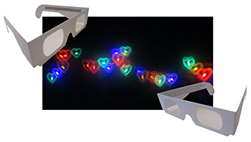 Rainbow-Hearts-Fireworks-Diffraction-Glasses-50-Pair-Paper-Frames-0