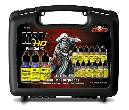 Reaper Master Series Hd Paint Set 2 Hobby Leisure Mall