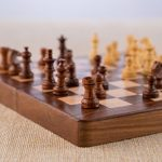 Rusticity-Wood-Magnetic-Chess-Set-with-Folding-Board-and-Chess-Pieces-Handmade-10×10-in-0-1