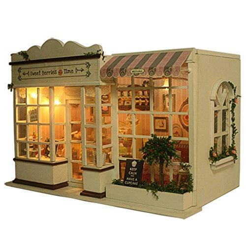 Rylai Wooden Handmade Dollhouse Miniature Diy Kit Sweet