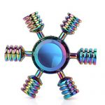 SCIONE-Metal-Fidget-Spinner-5-Pack-Stainless-Steel-Bearing-3-5-Min-High-Speed-Stress-Relief-Spin-ADHD-Anxiety-Toys-for-Adult-Kid-Autism-Fidgets-Best-EDC-Hand-Spinners-Finger-Toy-Focus-Fidgeting-0-0