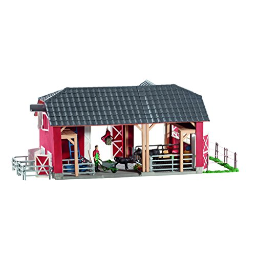 Schleich-Farm-World-Large-Red-Barn-with-Animals-Accessories-Toy-Figure-0-0