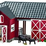 Schleich-Farm-World-Large-Red-Barn-with-Animals-Accessories-Toy-Figure-0