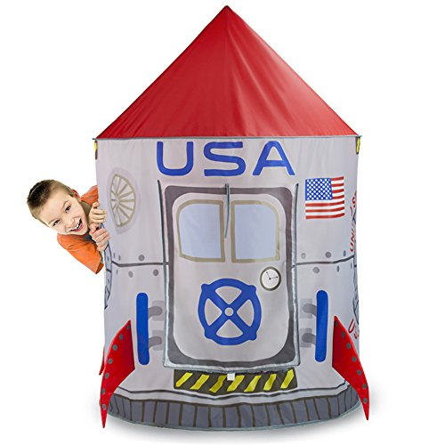 Space Adventure Roarin Rocket Play Tent With Milky Way