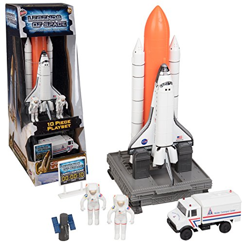 Space-Exploration-Set-Legends-of-Space-10-Piece-Complex-39-Launch-Site-with-Astronauts-Rockets-Space-Shuttle-and-Ground-Vehicle-0