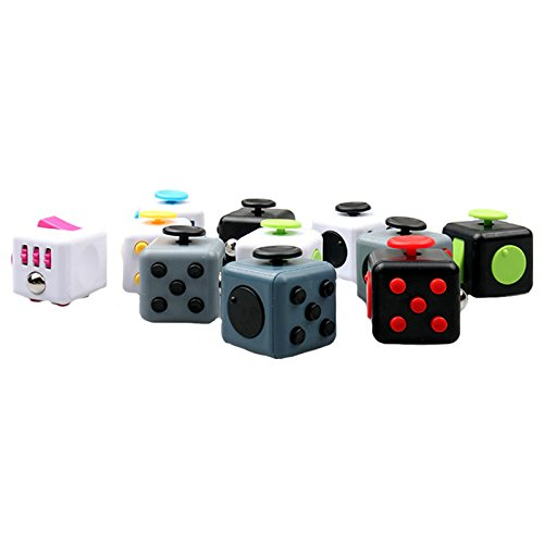 TOPSelling-22-Pcs-Set-Stress-Relief-Cube-Figet-Cube-with-Protective-Case-Reduce-Pressure-Dice-3D-Puzzle-Toys-11-Colors-0-2