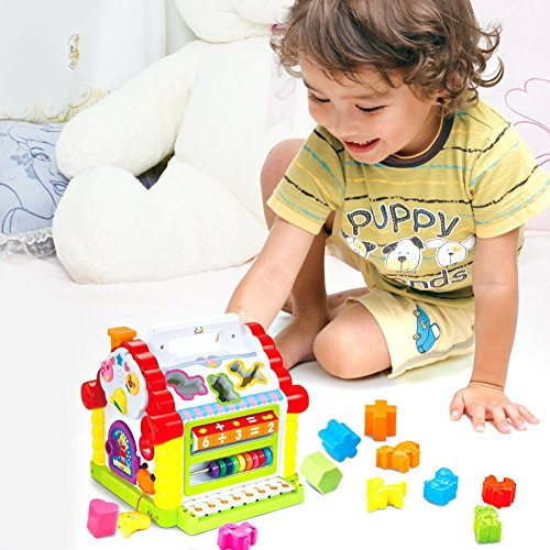 Toddler Educational Toys For Boys : Toyk kids toys musical colorful baby fun house many kinds