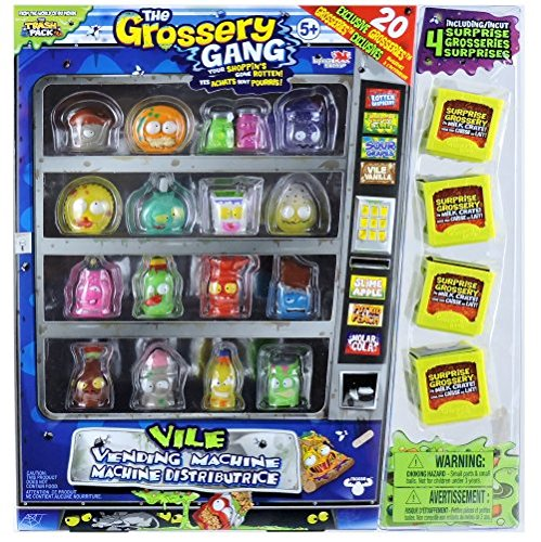 The-Grossery-Gang-Season-1-Vile-Vending-Machine-Package-with-20-Exclusive-Grosseries-by-Moose-Toys-0