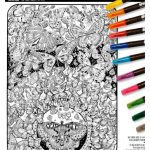 The-Original-DoodleArt-by-PlaSmart-Butterflies-Adult-Coloring-24x-34-Poster-Non-Toxic-Precision-12-Marker-Set-Reduce-Stress-Ages-8-and-Up-0-1