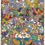 The-Original-DoodleArt-by-PlaSmart-Butterflies-Adult-Coloring-24x-34-Poster-Non-Toxic-Precision-12-Marker-Set-Reduce-Stress-Ages-8-and-Up-0