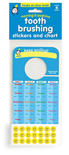 Tooth-Brushing-Stickers-and-Chart-BULK-100-UNITS-Ideal-for-Pediatric-Dentist-office-give-away-0-0