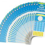 Tooth-Brushing-Stickers-and-Chart-BULK-100-UNITS-Ideal-for-Pediatric-Dentist-office-give-away-0