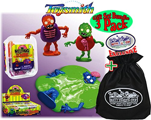Toysmith-Melting-Zombie-SlimePutty-Red-Green-Purple-Complete-Gift-Set-Party-Bundle-with-Exclusive-Mattys-Toy-Stop-Storage-Bag-3-Pack-0-0