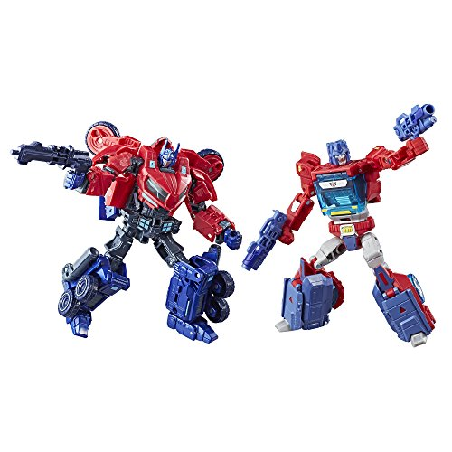Transformers-Deluxe-Class-Optimus-Prime-Autobot-Legacy-2-Pack-Amazon-Exclusive-0