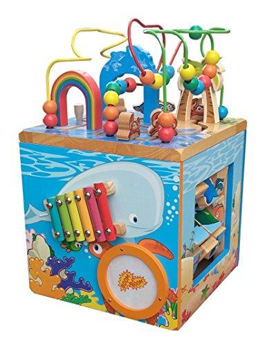 Under The Sea Adventures, Deluxe Activity Wooden Maze Cube ...