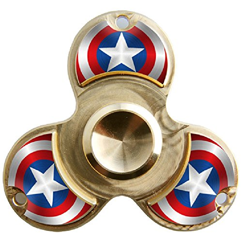WENSE-Fidget-Spinner-Toy-Ultra-Durable-Pure-copper-Bearing-High-Speed-6-14-Min-Spins-Precision-Metal-Hand-Spinner-EDC-ADHD-Focus-Anxiety-Stress-Relief-Boredom-Killing-Time-Toys-0-1