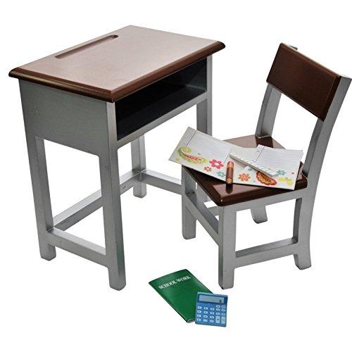Wooden Modern School Desk Amp Chair And Storage Shelf Plush