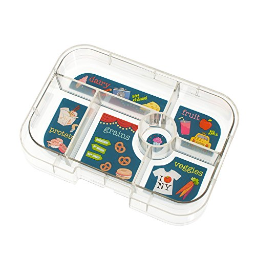 yumbox original empire blue leakproof bento lunch box container for kids hobby leisure mall. Black Bedroom Furniture Sets. Home Design Ideas
