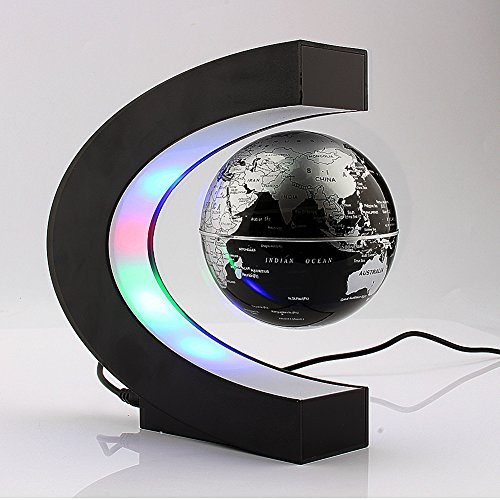 Yosoo-C-shape-Decoration-Magnetic-Levitation-Floating-Globe-World-Map-0-0