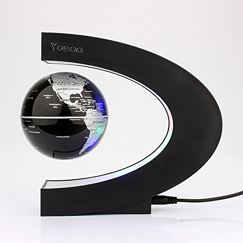 Yosoo-C-shape-Decoration-Magnetic-Levitation-Floating-Globe-World-Map-0-1