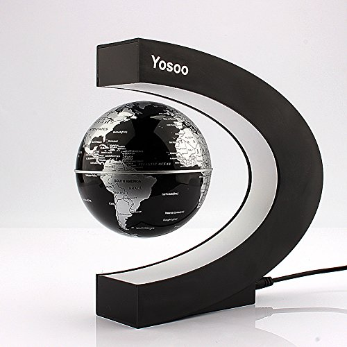 Yosoo-C-shape-Decoration-Magnetic-Levitation-Floating-Globe-World-Map-0-2