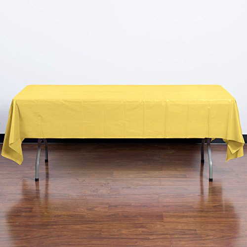 1252-108-x-54-Mimosa-Yellow-Disposable-Plastic-Table-Cover-12Case-By-TableTop-King-0-1