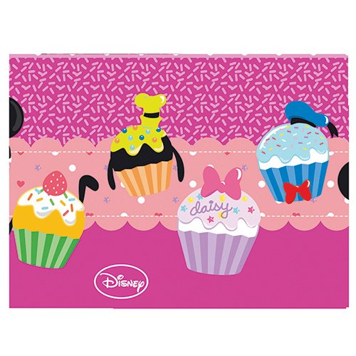 1.2m x 1.8m Disney Minnie Mouse Sweet Treats Pink Party Plastic Table Cover  sc 1 st  Hobby Leisure Mall & 1.2m x 1.8m Disney Minnie Mouse Sweet Treats Pink Party Plastic ...