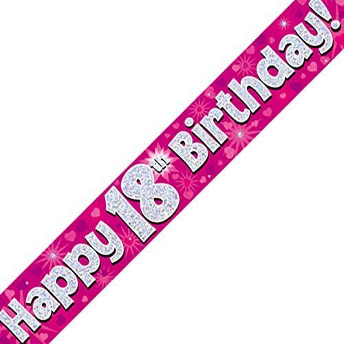 18th-Happy-Birthday-Banner-Pink-Holographic-9-ft-0
