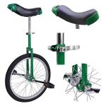 20-Mountain-Bike-Wheel-Unicycle-with-Quick-Release-Adjustable-Seat-Color-Green-0-0