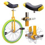 20-Mountain-Bike-Wheel-Unicycle-with-Quick-Release-Adjustable-Seat-Color-Lemon-0-0
