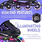 2pm-Sports-Vinal-Girls-Adjustable-Flashing-Inline-Skates-All-Wheels-Light-Up-Fun-Illuminating-Rollerblades-for-Kids-and-Ladies-Start-Roller-Skating-Today-0-1