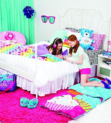 3C4G-Rainbow-Hearts-Reversible-Sleeping-Bag-0-1
