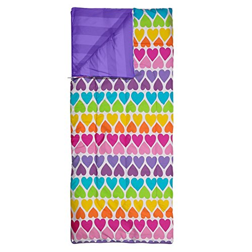 3C4G-Rainbow-Hearts-Reversible-Sleeping-Bag-0