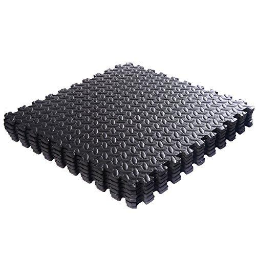 48 Sq Ft Eva Foam Floor Interlocking Mat Show Floor Gym
