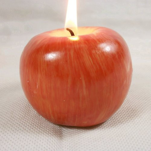 4ever Candle Red Apple Wedding Birthday Christmas Favors