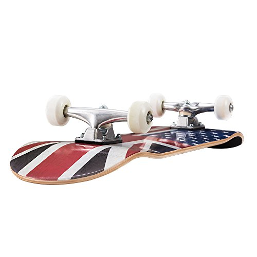 831-Inch-Complete-Skateboard-Canadian-Maple-Wood-Double-Kick-Concave-Skateboards-Tricks-Skate-Board-for-Beginners-and-ProAB-0-1