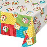 ABC-Birthday-Party-Printed-Plastic-Tablecover-54-x-102-Box-of-6-Tablecovers-0