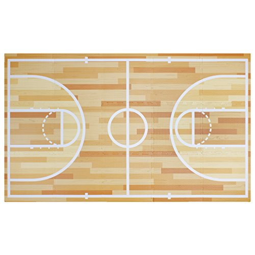 All Star Basketball Foam Play Mat Safe Kids Puzzle