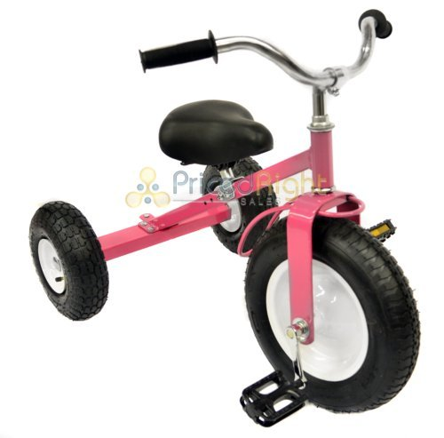 All-Terrain-Tricycle-with-Wagon-Pink-CART-042P-0-0