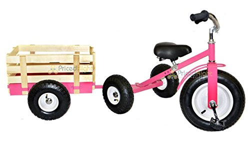 All-Terrain-Tricycle-with-Wagon-Pink-CART-042P-0-1