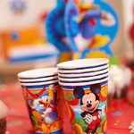 American-Greetings-Mickey-Mouse-Clubhouse–Paper-Party-Cups-8-Count-Party-Supplies-Novelty-0-1