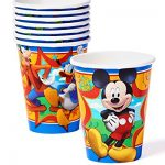 American-Greetings-Mickey-Mouse-Clubhouse–Paper-Party-Cups-8-Count-Party-Supplies-Novelty-0