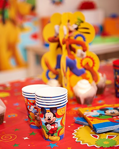 American-Greetings-Mickey-Mouse-Clubhouse–Paper-Party-Cups-8-Count-Party-Supplies-Novelty-0-2