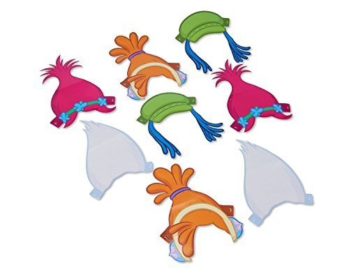 American-Greetings-Trolls-Paper-Headbands-8-Count-0