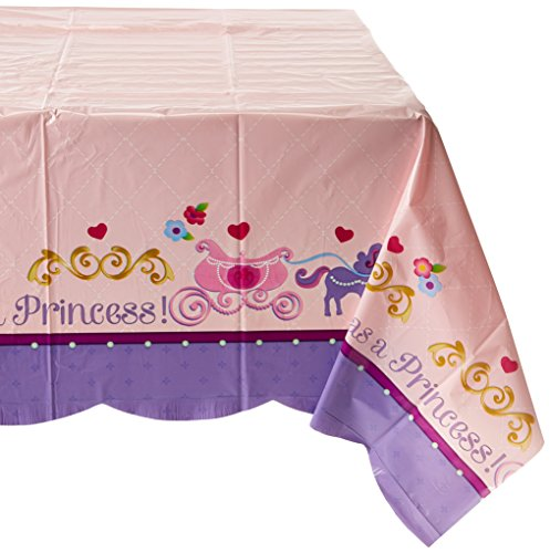 Amscan-Disney-Sofia-the-First-Plastic-Table-Cover-Princess-Birthday-Party-Tableware-Decoration-Others-Supplies-6-Piece-0